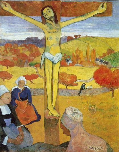 """Yellow Christ,"" Paul Gauguin."