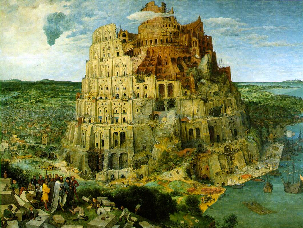 Pieter Breugel, Tower of Babel (1563)