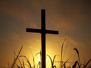 cross sunset-